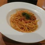 83235591 - 濃厚トマトクリームの渡り蟹のスパゲティ