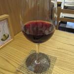 小松庵 総本家 - 赤のグラスワイン