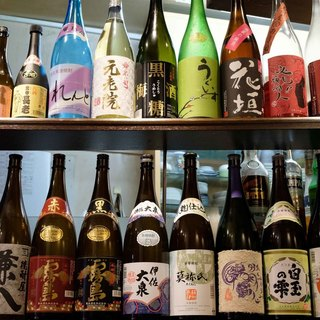 ◇日本酒・焼酎・ワイン◇多彩なドリンクを豊富にご用意!
