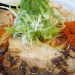 辛口肉ソバ ひるドラ - 辛口肉ソバ味噌大盛り