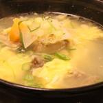 明月館 - テールスープはたっぷりなおかつおいしい。最高です