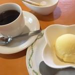 83238443 - 手作りアイスクリームとコーヒー