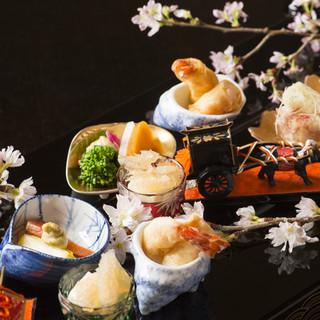 ハレの日に華を添える、華麗な懐石料理
