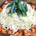ちりとり鍋 伊山 - 料理写真:ホルモン鍋
