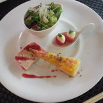 セルフィーユ - 前菜3種盛り