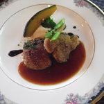 セルフィーユ - 豚ヒレ肉の香草パン粉焼き