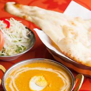 本場インドの料理をご家族揃って楽しめるお店◎