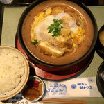 83242332 - 豆腐かつ煮定食