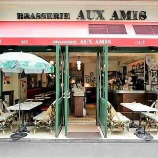 居心地の良いサービスと本物のフランス料理