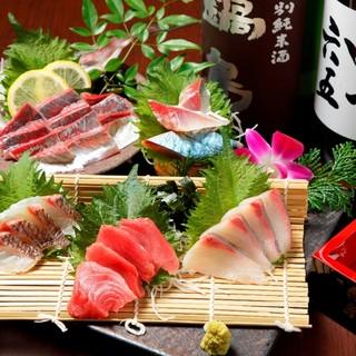玄界灘産の新鮮なお魚