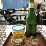 アンコムチュア - 料理写真:ビールだけの注文にも応えてくださいました(2018.3.29)
