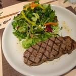 ナチュラルダイエットレストラン NODO - ステーキセット ステーキ