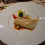 ナチュラルダイエットレストラン NODO - ナチュラルコース 鶏胸肉のロースト カポナータソース