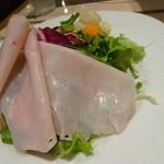 ナチュラルダイエットレストラン NODO - プロシュートコットのサラダ