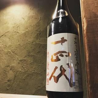 歴史の深い東北ならではの、自慢の日本酒を堪能