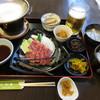 民宿・割烹 松園 - 料理写真:飛騨牛鉄板焼き(上)定食 2500円 (2018.2)