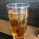 ぴかる - ドリンク写真:お茶です