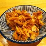 ラーメン ブタヒロ - ほぐしブタ。¥70