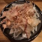 くし家串猿 - 新玉オニオンスライス ¥400