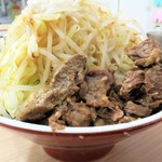 谷島屋 - がっつり油そば(大盛)+野菜(中)
