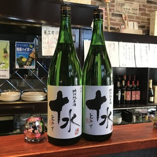 月替わりの日本酒は燻製やお造りとの相性も抜群!