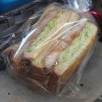 ちいさなパン家 Cachette - 料理写真:ホットカツサンド