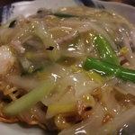 八仙 - あんかけ焼きそばも美味しいのだ!
