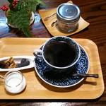 薬膳茶ソイビーンフラワー atきらら - ストレート珈琲・ケニアレッドマウンテン(600円)