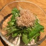 83260451 - 菜っ葉のサラダ