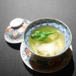 茶禅華 - 雉の雲呑スープ