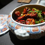 茶禅華 - 四川風排骨炒め