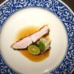 茶禅華 - 金目鯛ナンプラーソース