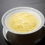 茶禅華 - 清湯スープ麺