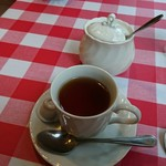ペンナロッソ - 食後の紅茶