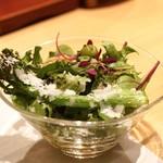 鳥匠 いし井 - ☆ハーブサラダ