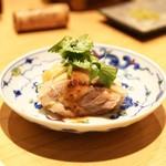 鳥匠 いし井 - ☆よだれ鶏、パクチー