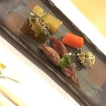 日本料理 花家 - お通しです(^ ^)