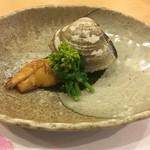 日本料理 花家 - 季節ですね筍とハマグリ(^ ^)菜の花も!