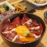 燦燦カフェ - 寒ブリの漬け丼定食