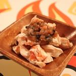 マッスルバー福岡 - ほぐしささみの梅肉和え
