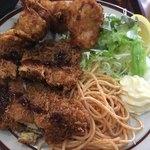 キッチン南海 - から揚げ・チキンカツ定食アップ