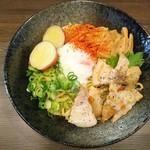 二星らーめん ららら - 料理写真:【平日限定】 らららのまぜそば。しめのご飯まで食べたくなるよ。