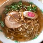 ラーメン 雅 - セットのラーメン(醤油)