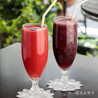 フルーツの美味しさをダイレクトに味わえるフレッシュジュース