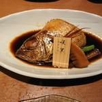 八吉 - のど黒の煮付けと季節野菜