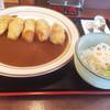 串心 - 料理写真:牡蠣フライカレー