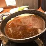 サクラ 馬ール - 桜鍋汁
