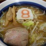 8番らーめん - 料理写真:小さな8番ラーメン(味噌)