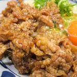 丸亀製麺 - お肉もタップリ。