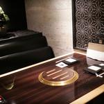 焼肉 銀座コバウ - 8階特別室